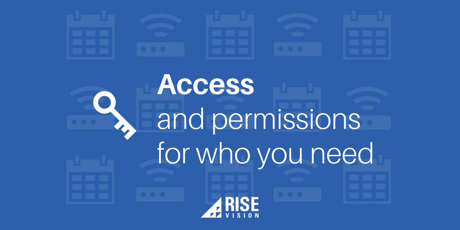 Rise Vision Digital Signage Education User Roles.png