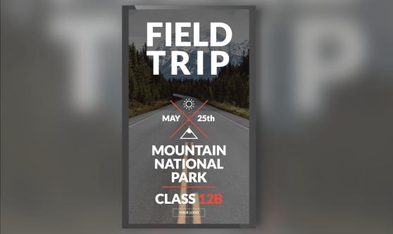 Field trip portrait mode