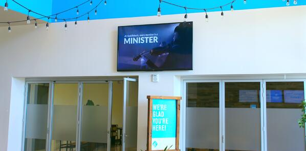 Digital Signage Wall example