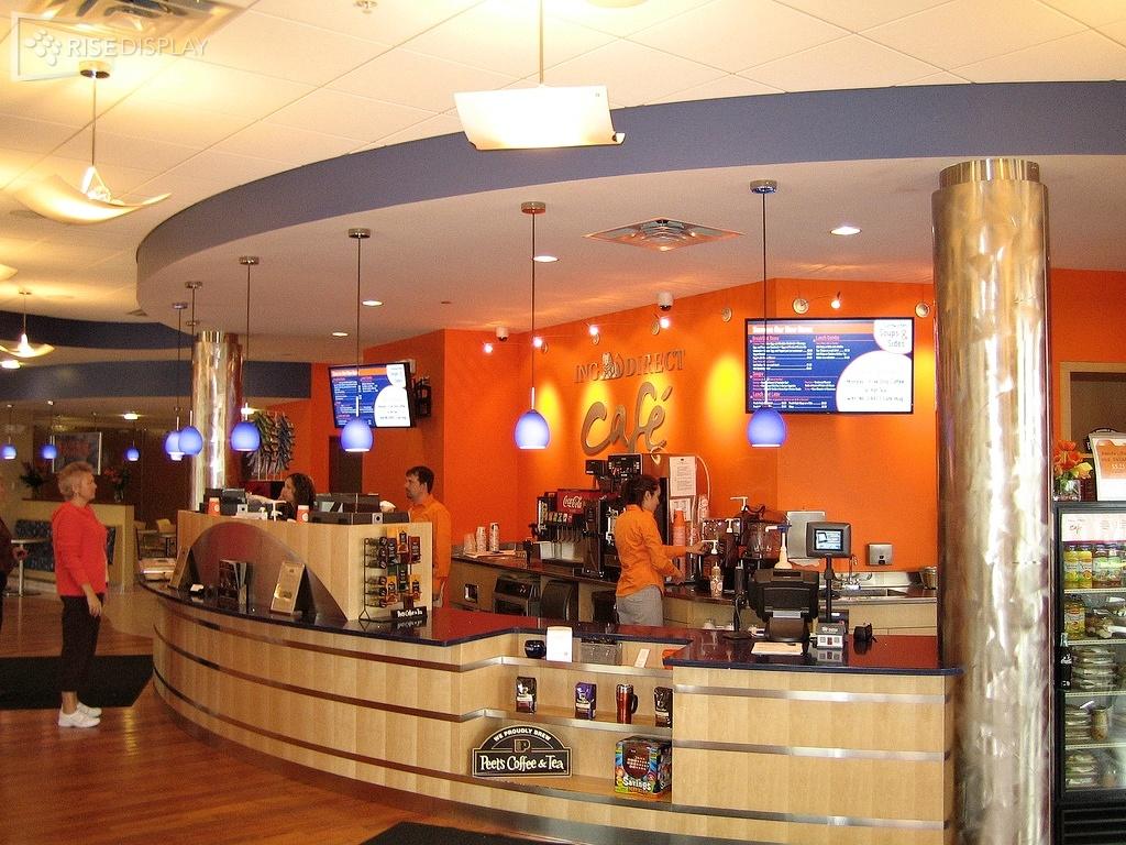 ING Direct Cafe Digital Signage