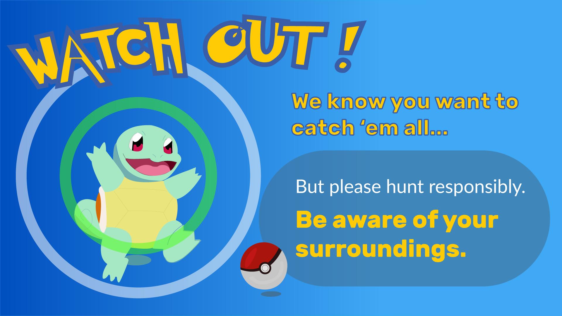 free digital signage templates pokemon go