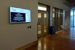 campus communication digital signage