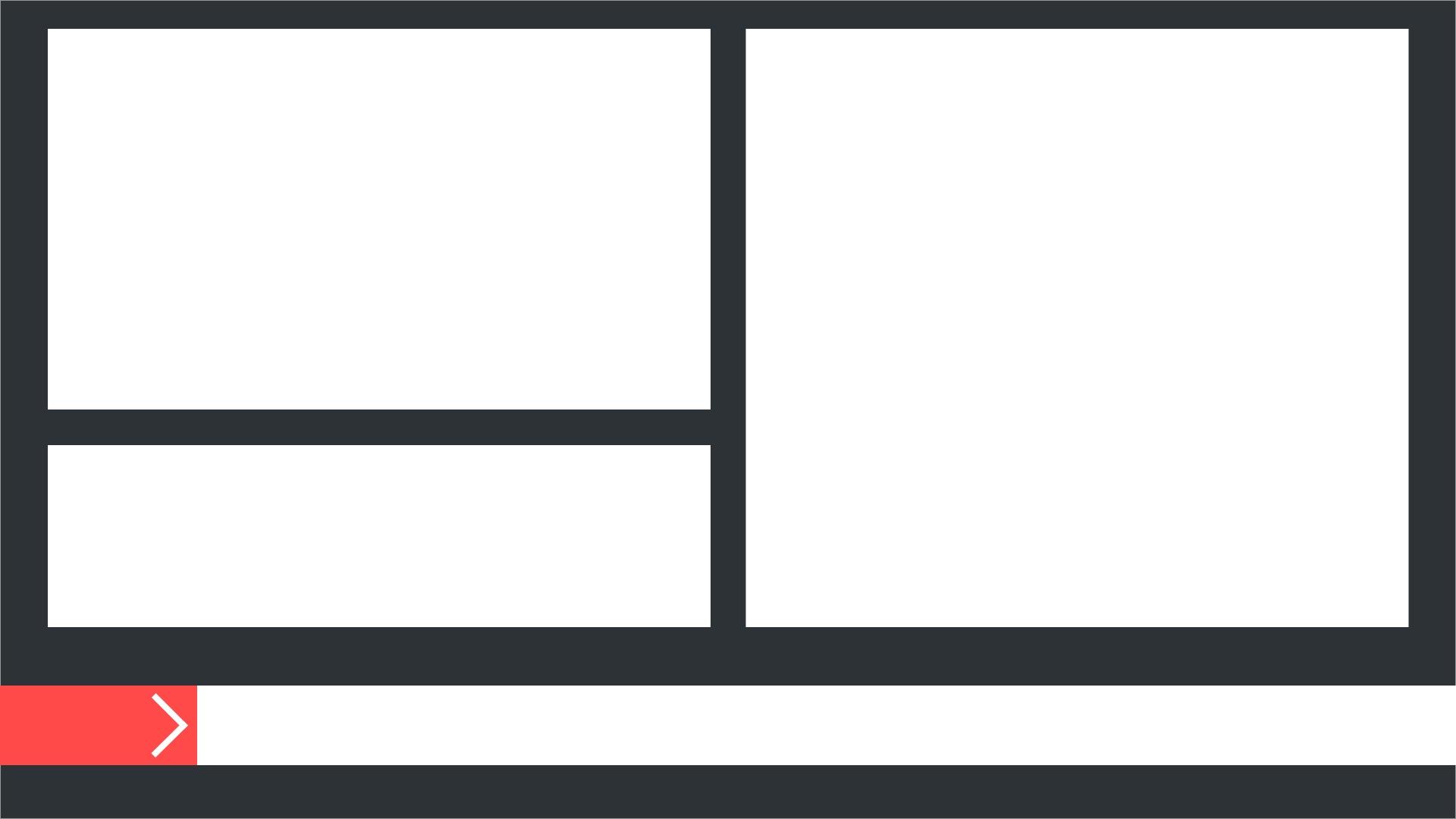 A digital signage background layout
