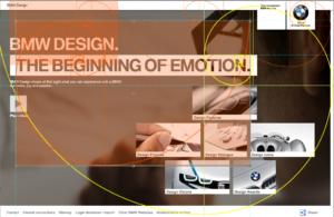 digital signage layout