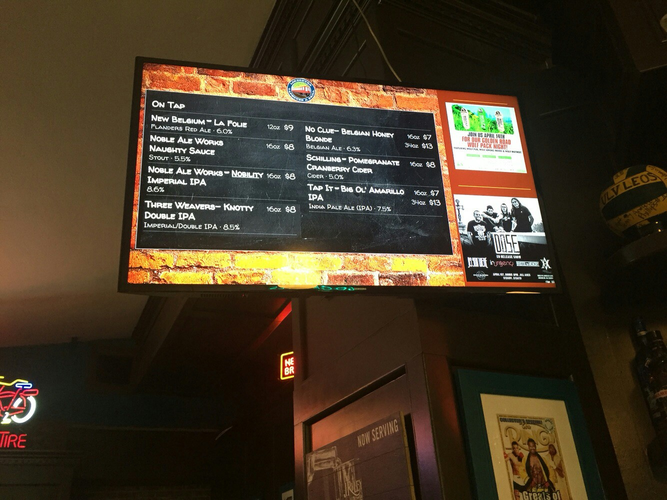 University of La Verne Digital Signage Board
