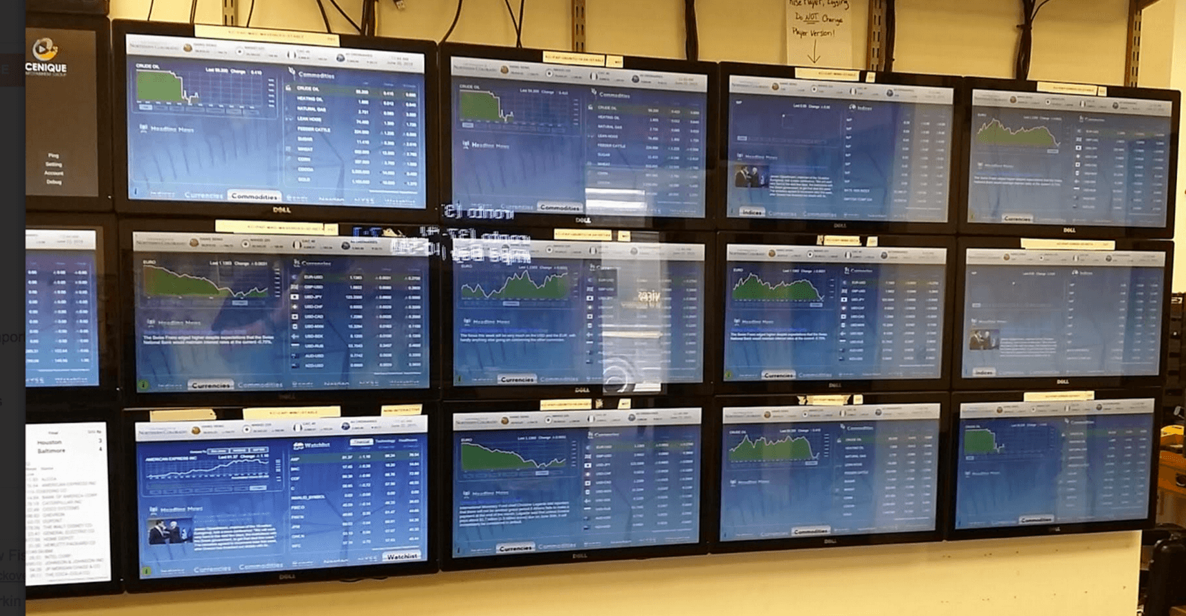 testing uptime wall