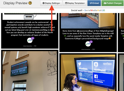 How to Use Digital Signage to Share Your Instagram Feed