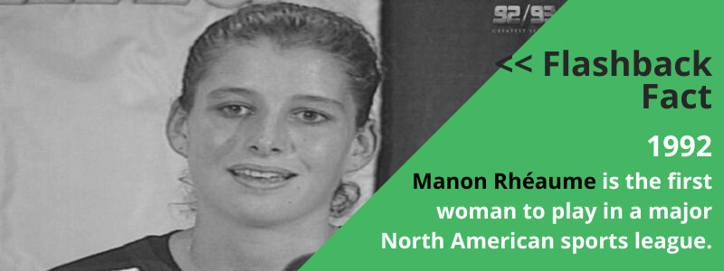 Manon Rhéaume_womens history month_facts