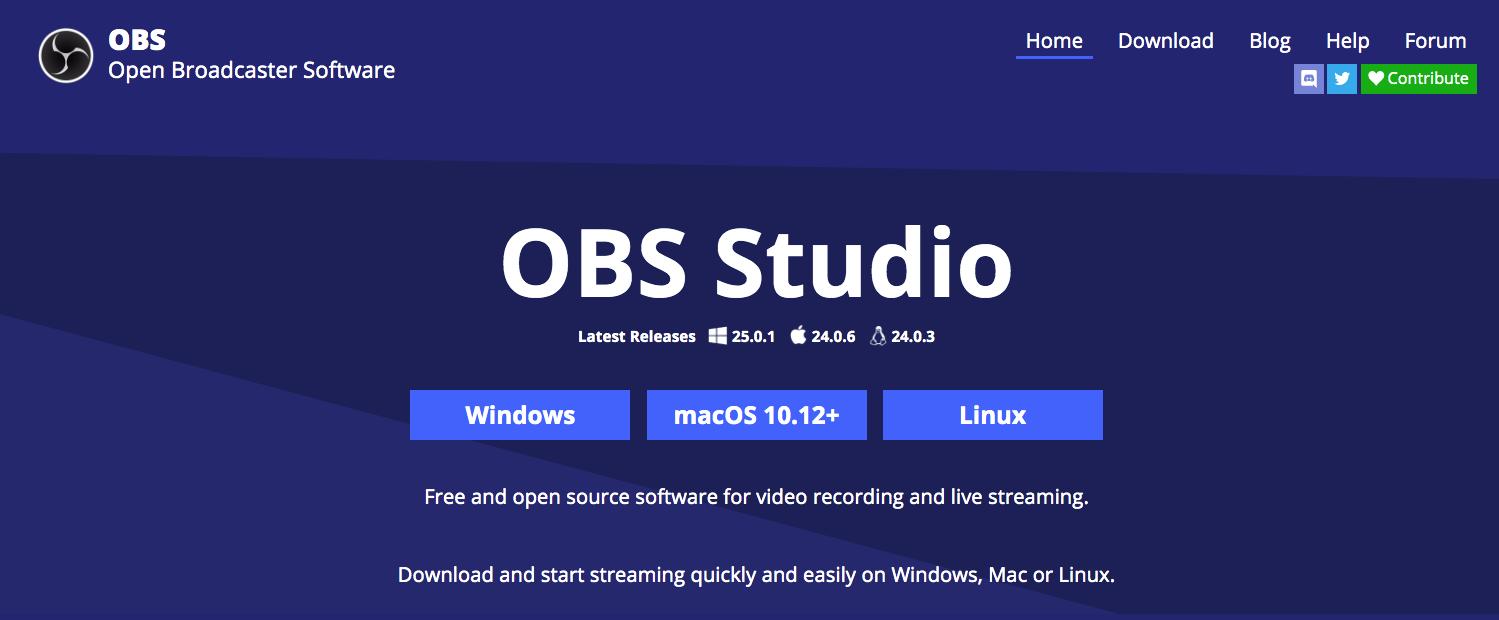 OBS Studios YouTube Software Encoder