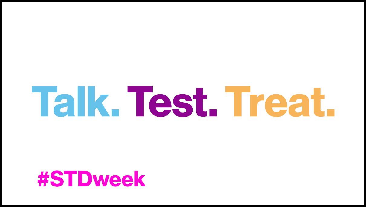 STD awareness week digital signage template