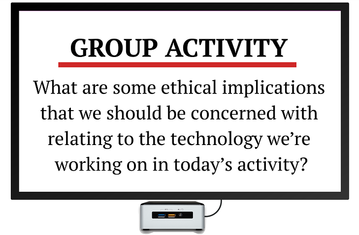 STEM and ethics group activity