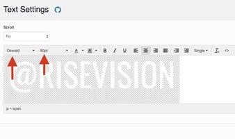 Text Editing enter Instagram handle