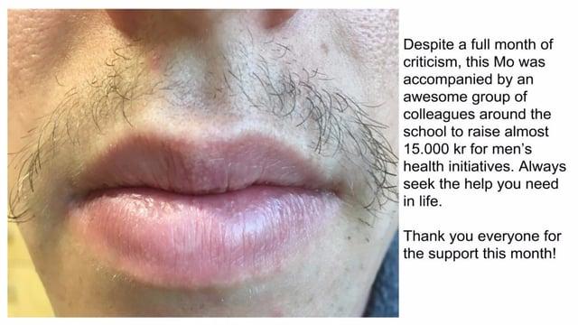 Movember - mustache and bio