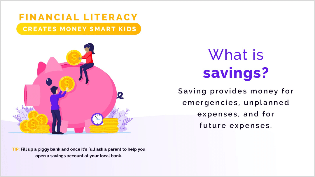 What-is-Savings-financial-literacy-poster-rise-vision