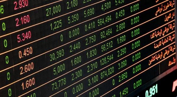 financial digital signage