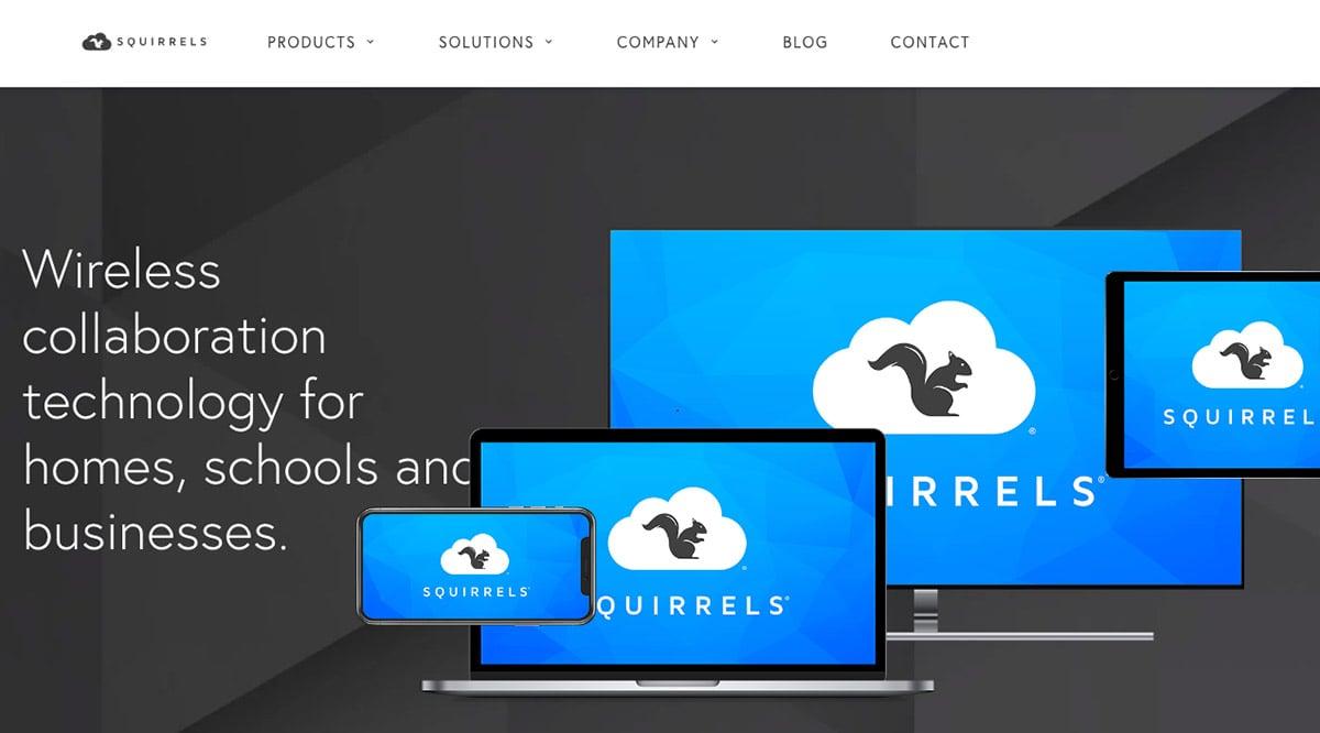 airsquirrels screen mirroring homepage