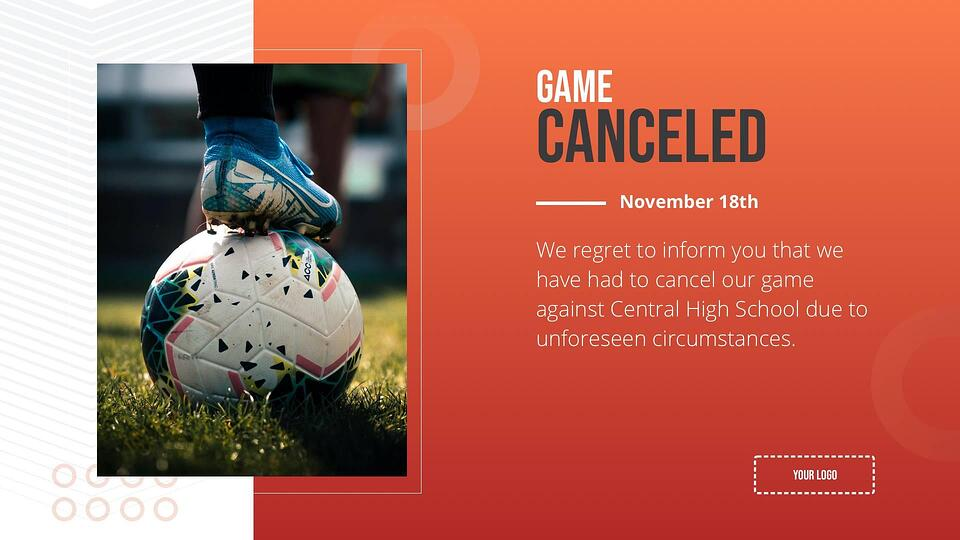 announcement-game-canceled-digital-signage-template