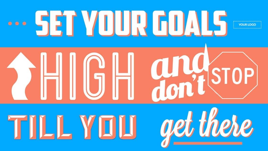 announcement-motivation-set-goals-digital-signage-template