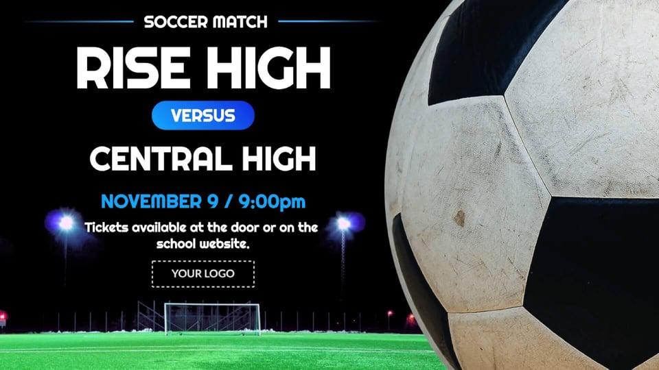 announcement-sports-soccer-match-digital-signage-template