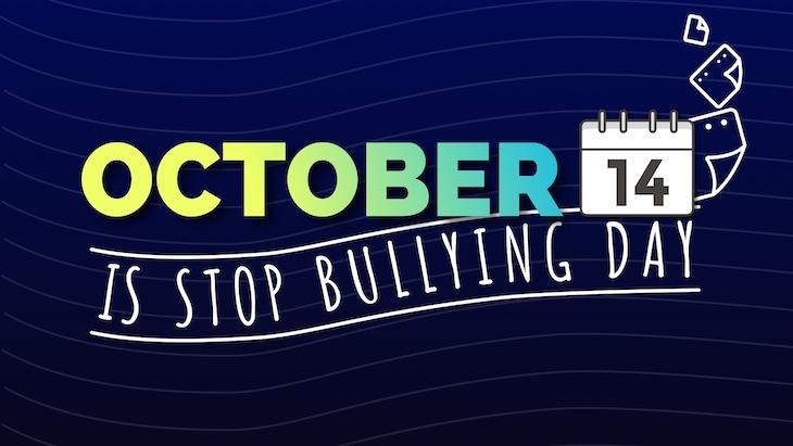 anti bullying poster stop bullying day October.