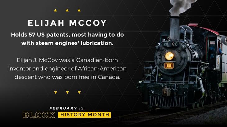 Black History Month Poster Elijah McCoy