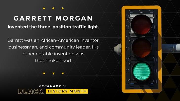 Black History Month Poster Garrett Morgan