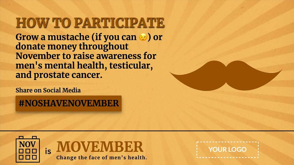 campaign-movember-digital-signage-template