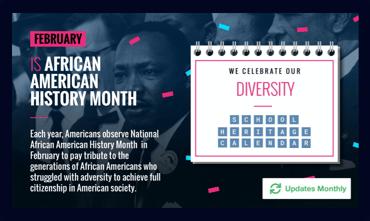 Celebrate Diversity Digital Signage Template