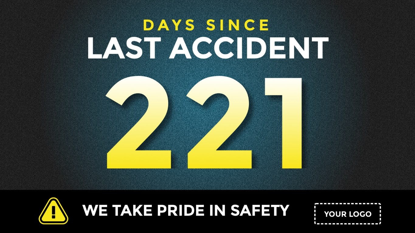 days-since-last-accident-digital-signage-template