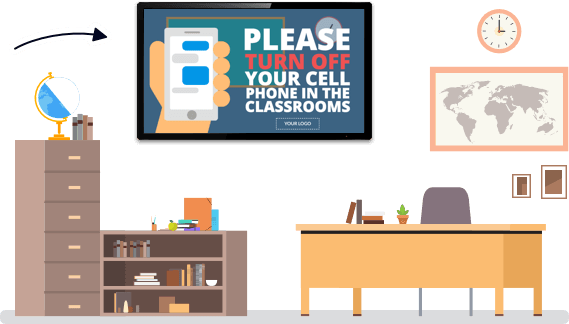 Digital Signage for Classrooms