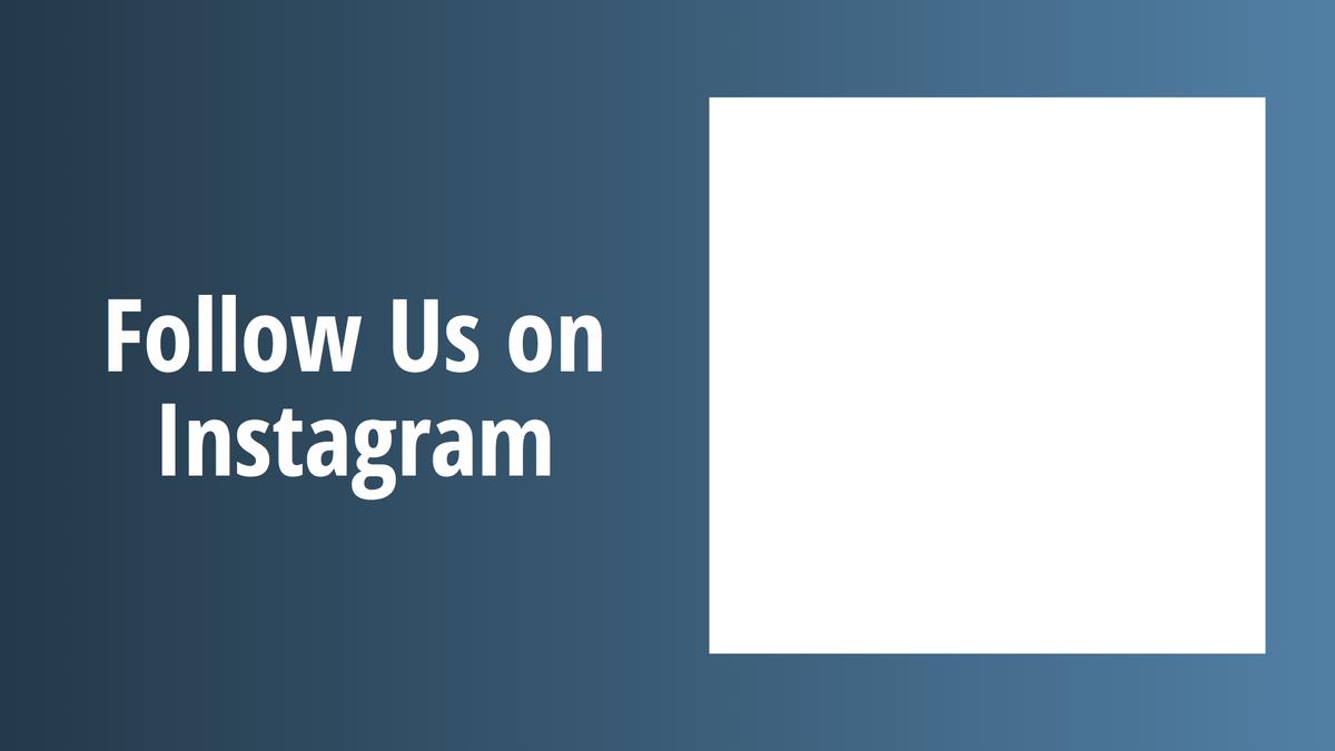 Digital Signage Instagram Layout