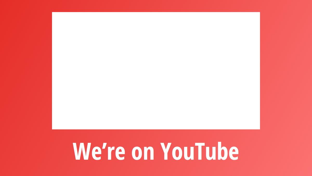 Digital Signage YouTube Layout