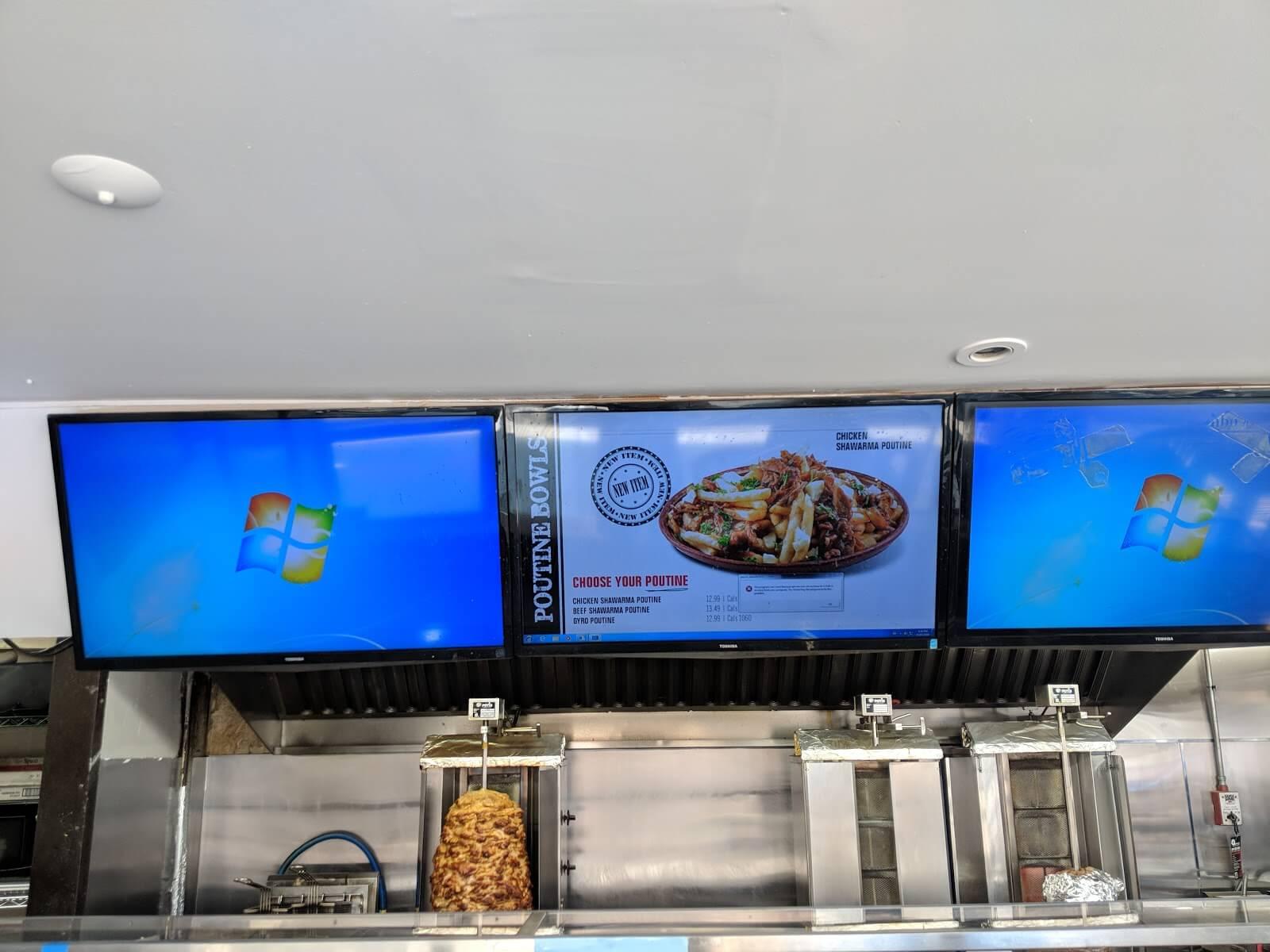 display monitoring example