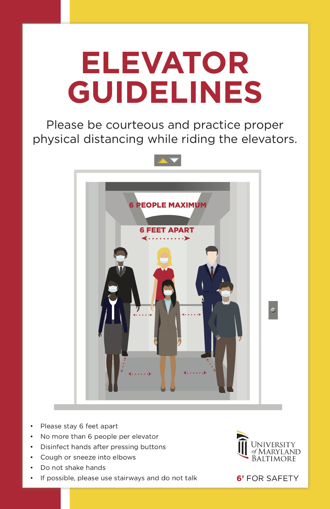 elevator guidelines for COVID-19