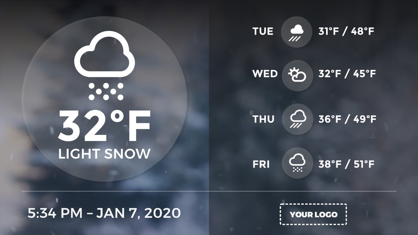 extended-weather-digital-signage-template