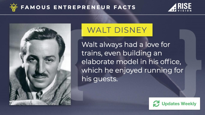 famous-entrepreneur-facts-digital-signage-template