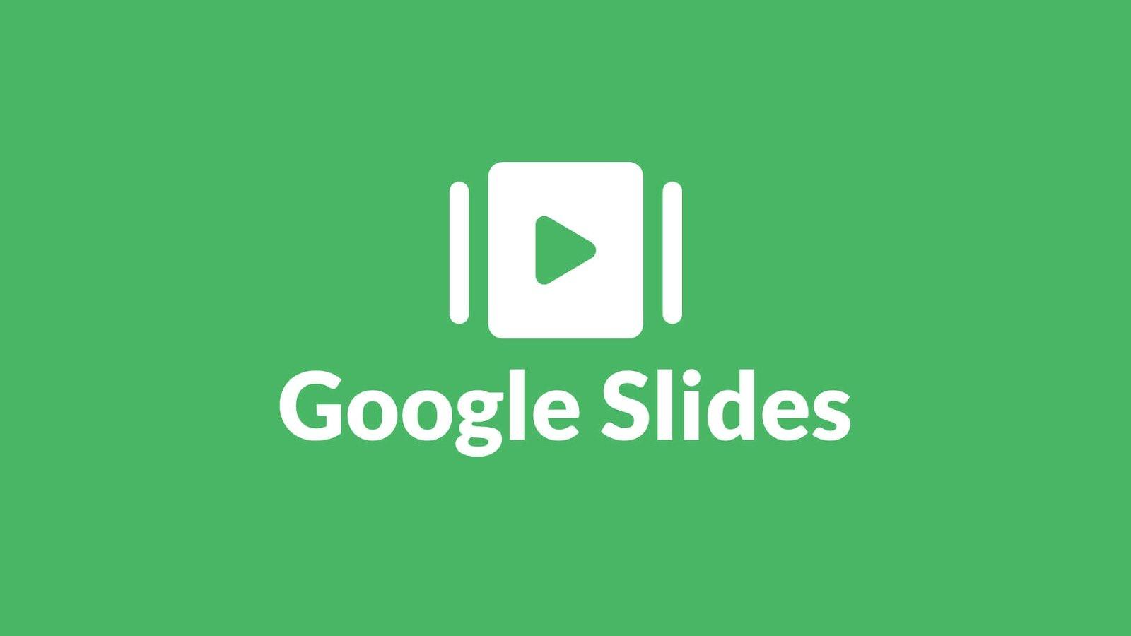 full screen Google Slides template