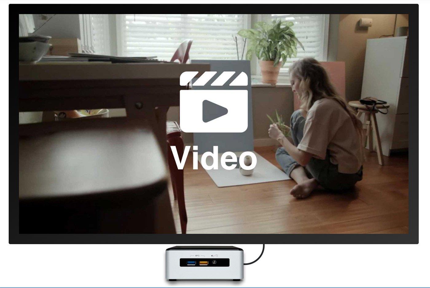Full Screen Video Digital Signage Template