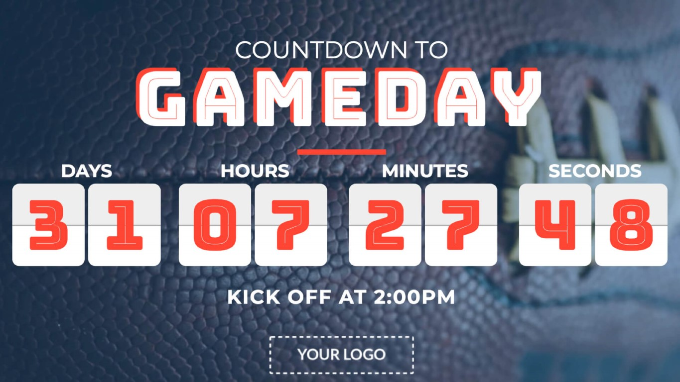 gameday-countdown-digital-signage-template