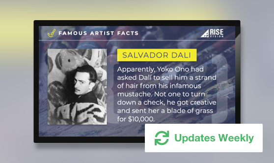 Famous Artist Facts