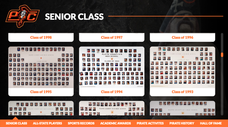 digital hall of fame senior class