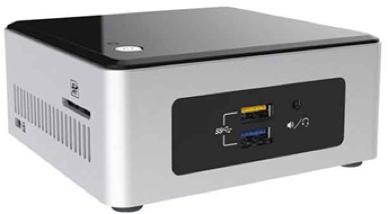 intel nuc pentium linux media player