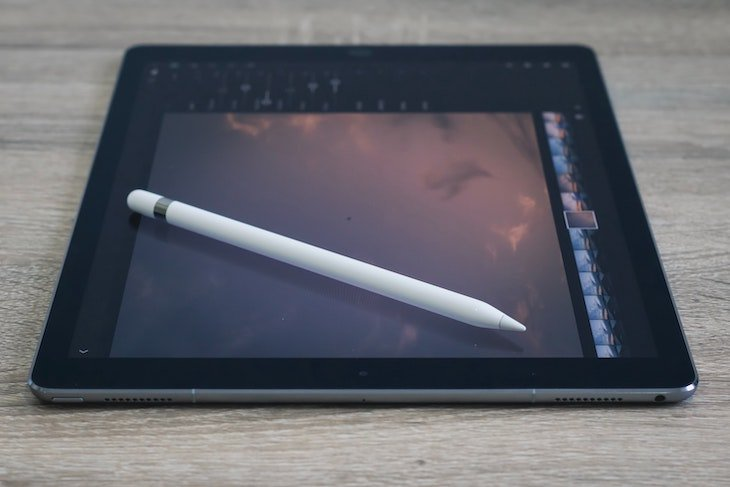 Interactive display with stylus