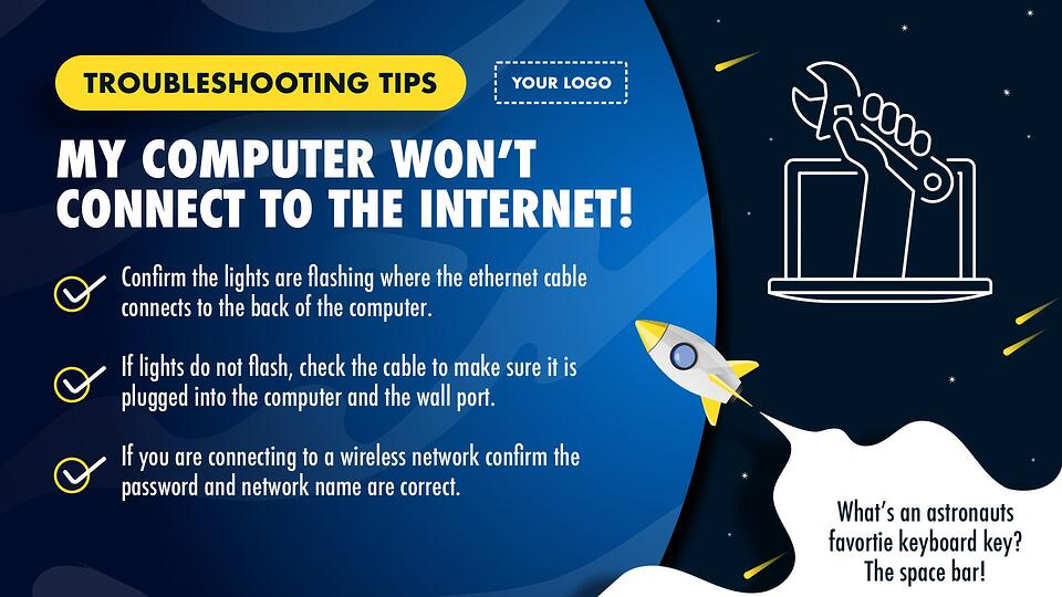 it-troubleshooting-digital-signage-template