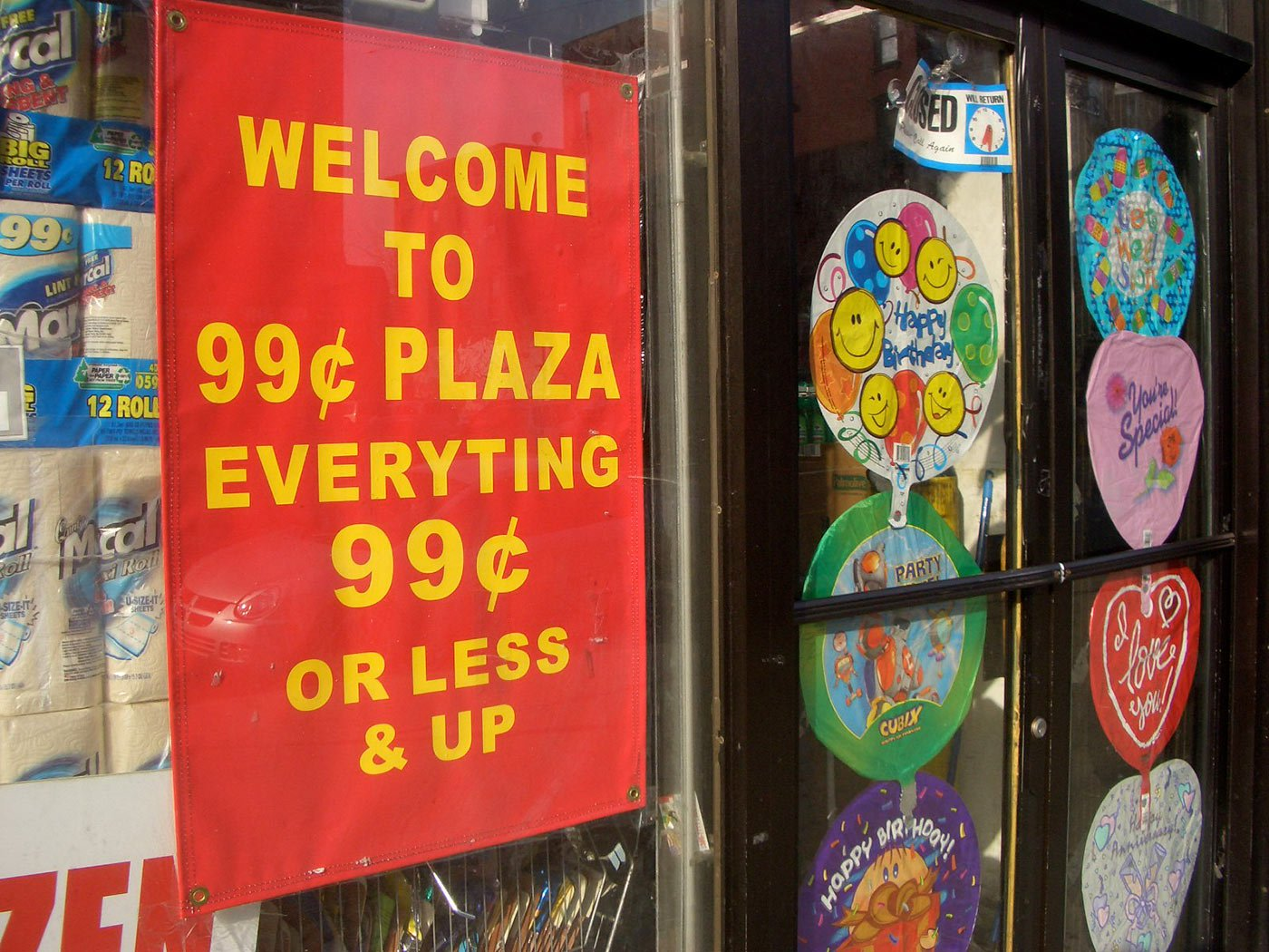 Menu Boards Ending in 99 Cents
