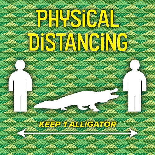 physical distancing length