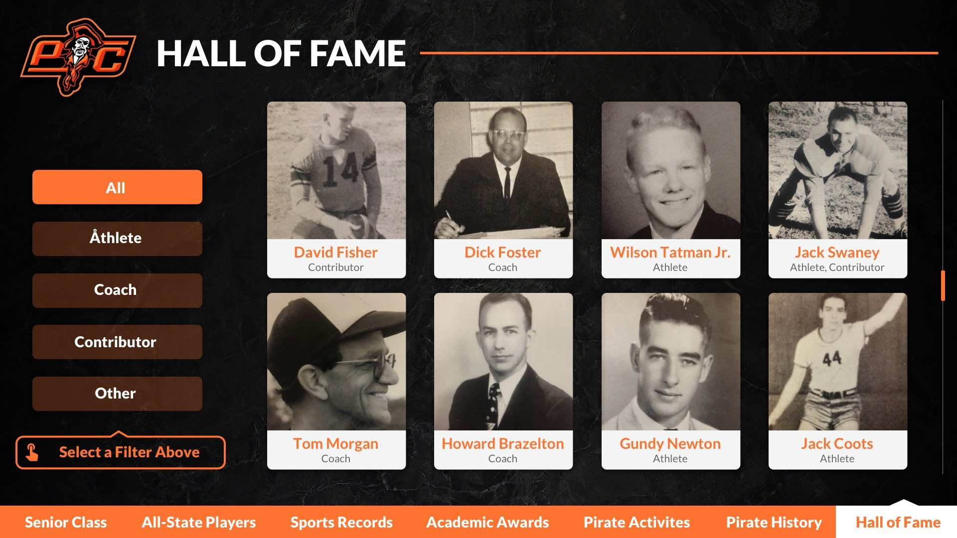 digital hall of fame