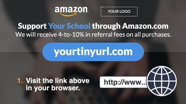 Amazon Referral Program Digital Signage