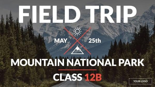Field trip for digital signage