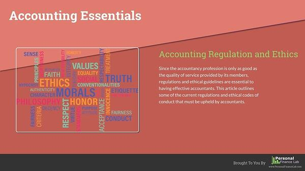 accounting essentials digital signage template